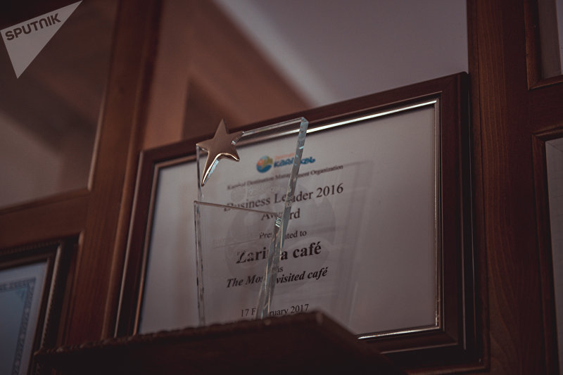 Награды ресторана бизнесмена из Каракола Фархада Расулова