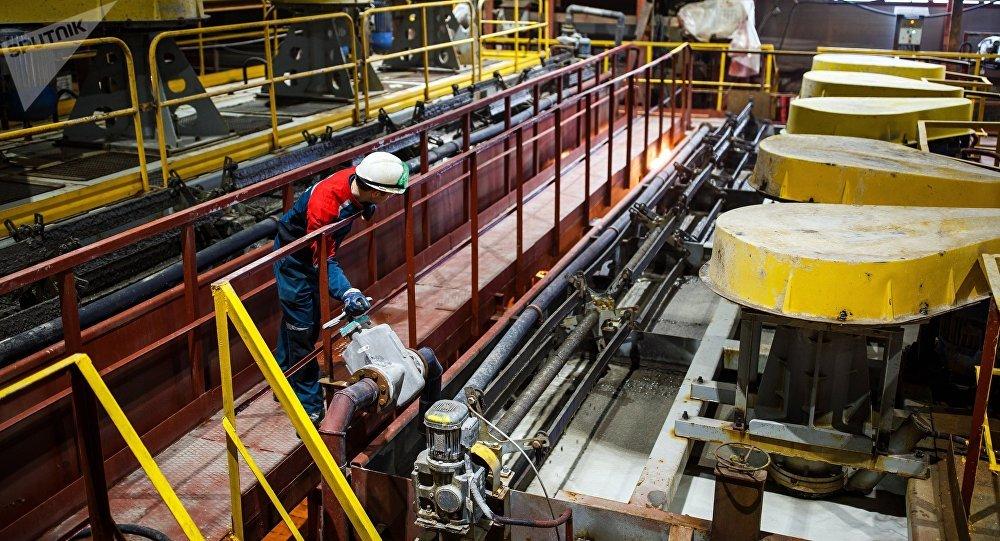 Алтын байытуу фабрикасы. Архив