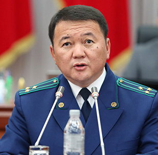Архивное фото генпрокурора КР Откурбека Жамшитова