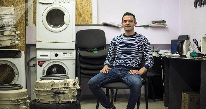 Молодой предприниматель Шухрат Хадыходжаев