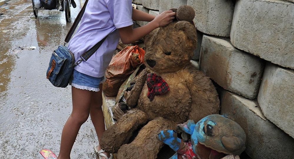 Последствия проливных дождей в Маниле