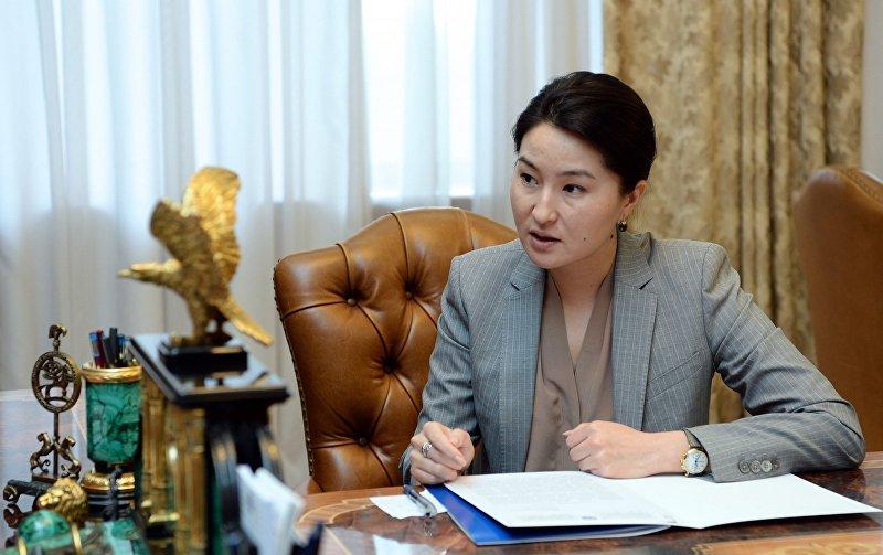 Экс-генеральный прокурор Индира Джолдубаева