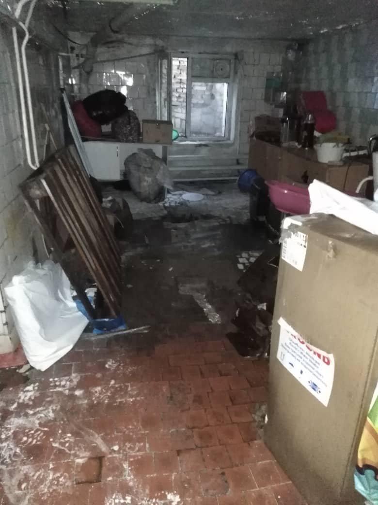 В результате прорыва были затоплены помещения хосписа