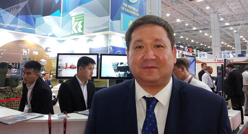 Пресс-секретарь Министерства оборонной и аэрокосмической промышленности РК Асет Нуркенов