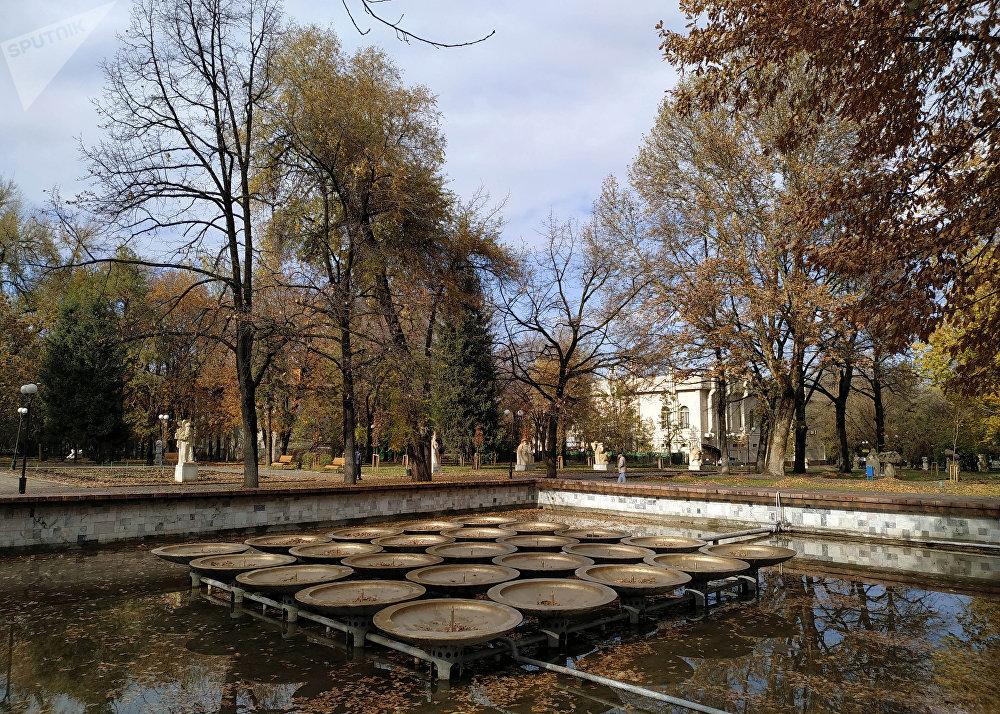 Осень в Бишкеке