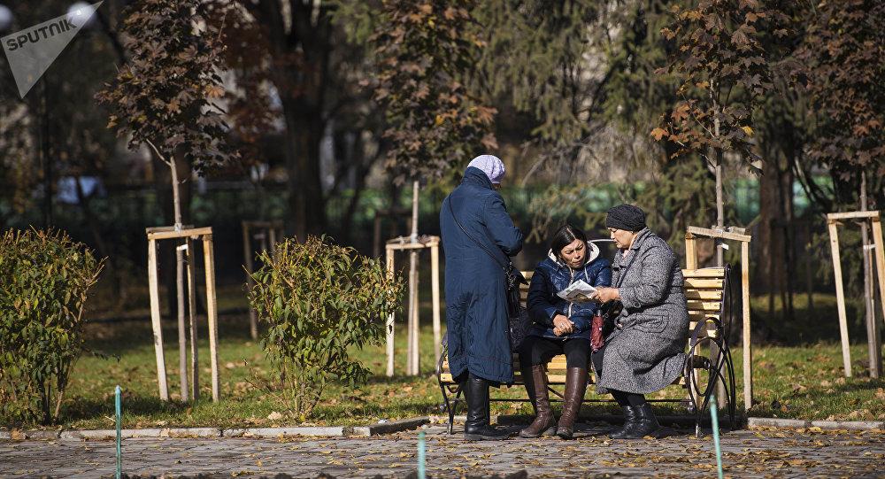 Осень в Бишкеке. Архивное фото