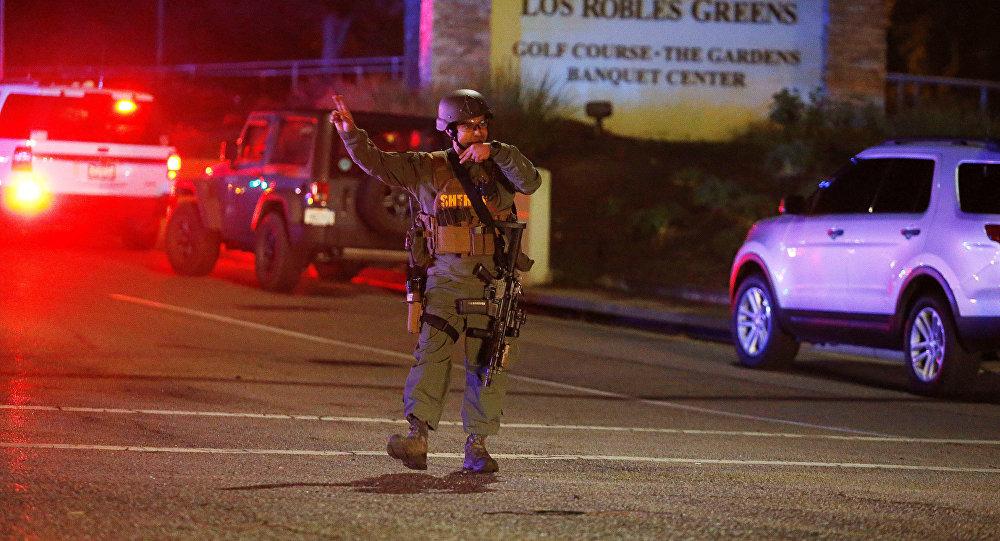 Стрельба в баре в Калифорнии