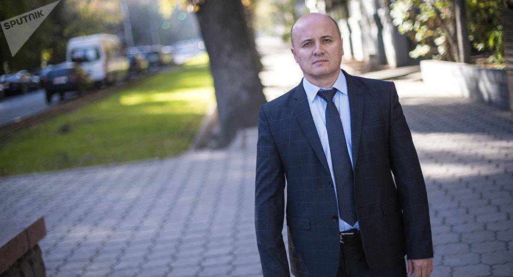Бывший начальник отдела Государственной службы по борьбе с экономическими преступлениями Русланбек Умаров