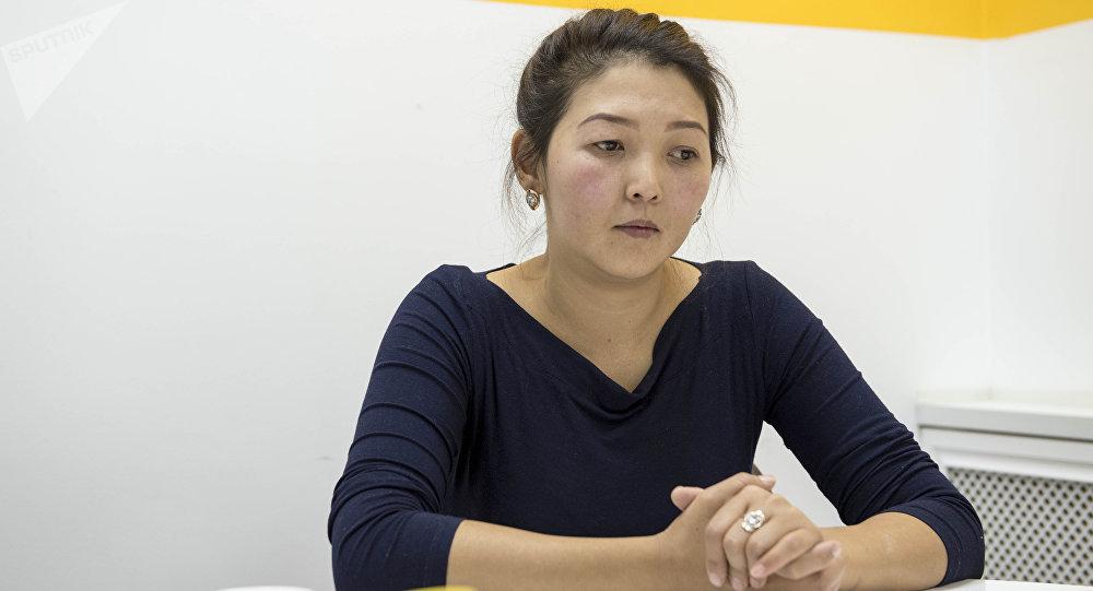Беседа с Айнурой Мамираимовой