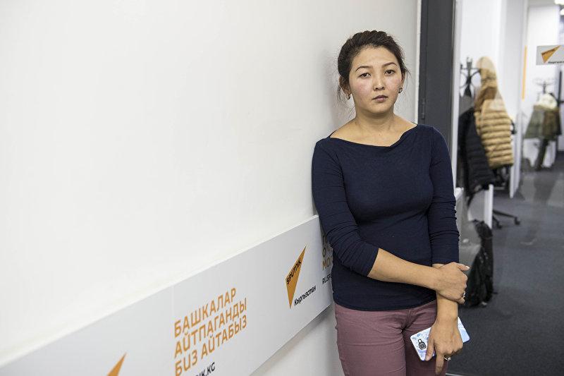 Айнура Мамираимова, чьей дочери требуется срочная операция от лейкоза