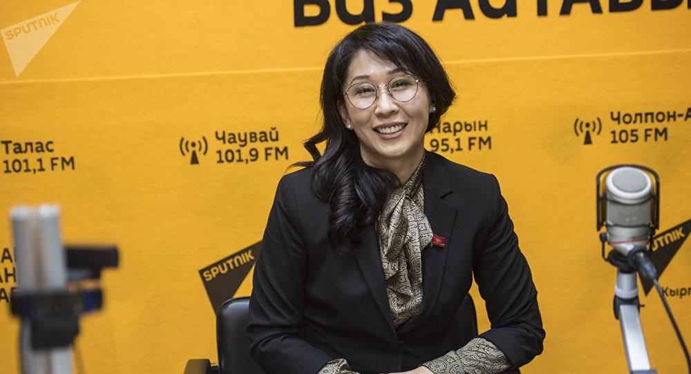 Жогорку Кеңештин депутаты Аида Исмаилова