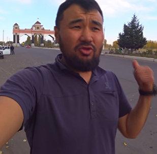 За путешествием этого кыргызстанца следят тысячи людей — невероятное видео