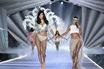 Ежегодный показ бренда Victoria's Secret в Нью-Йорке