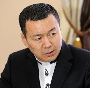 Генеральный консул КР в Алмате Алиясбек Алымкулов