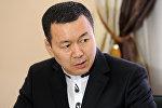 Генеральный консул Кыргызской Республики в городе Алматы Республики Казахстан Алиясбек Алымкулов. Архивное фото