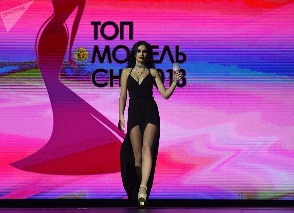 КМШ топ-модели — 2018 сулуулук конкурсунун катышуучусу Ева Багдасарян