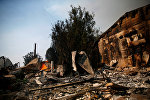 Лесной пожар на севере Калифорнии