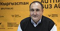 Экс-вице-мэр города Бишкек Бакытбек Дюшембиев. Архивное фото