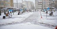 Бишкектеги 12-кичирайондо жаңы сквердин ачылышы болуп өттү.