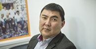 Председатель Кыргызского общества слепых и глухих Марат Ташбаев. Архивное фото