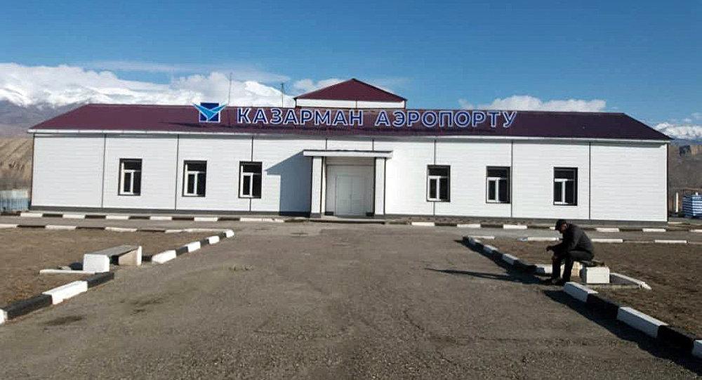 Жалал-Абад облусунун Казарман аэропорту