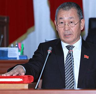 Депутат Эрмамат Тагаевдин архивдик сүрөтү