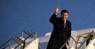 Рабочий визит президента Сооронбая Жээнбекова. Архив