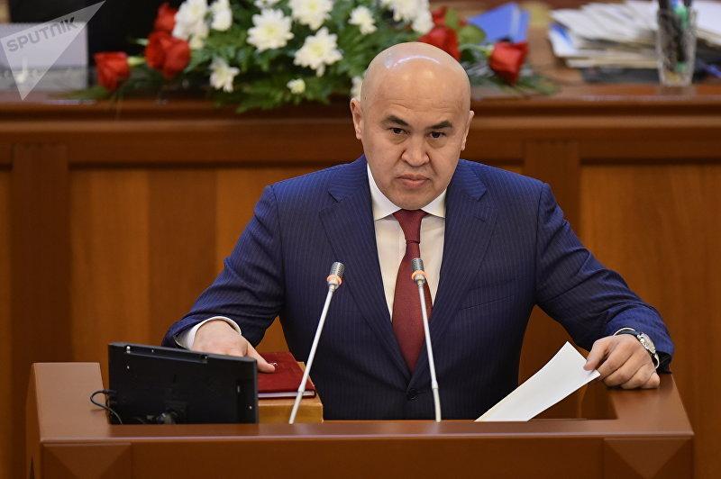 Лидер фракции Бир Бол Алтынбек Сулайманов. Архивное фото