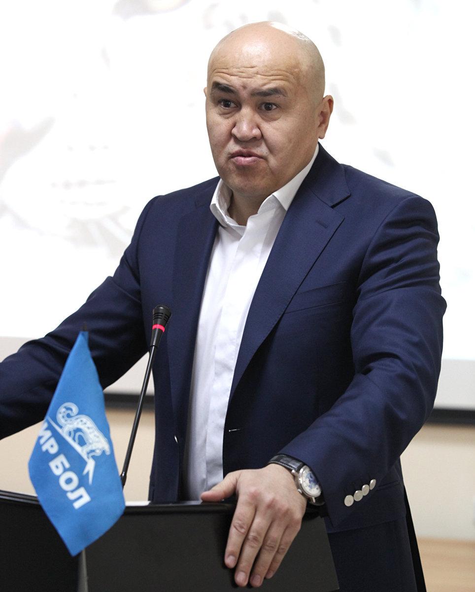 Алтынбек Сулайманов – член политического совета партии Бир бол. Архивное фото