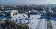 Зима в Бишкеке
