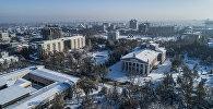 Национальный академический театр оперы и балета имени Абдыласа Малдыбаева в Бишкеке. Архивное фото