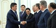 Президент КР Сооронбай Жээнбеков принял участников 21-го заседания Конференции специальных служб тюркоязычных государств