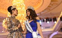 В Бишкеке прошел финал официального конкурса красоты Мисс Кыргызстан — 2018