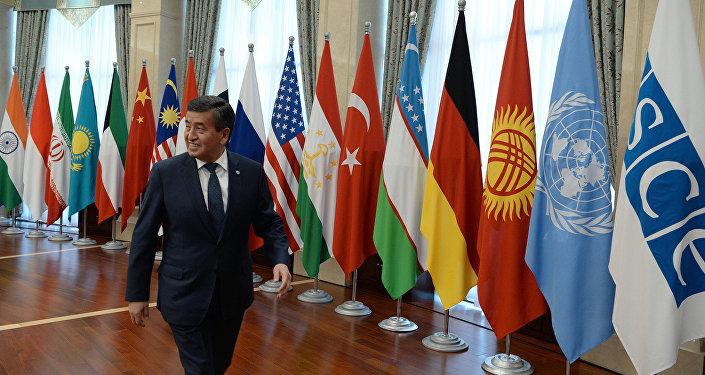 Борбор калаада Ислам азыркы светтик мамлекетте аттуу II аралык конференция өтүп, ага президент Сооронбай Жээнбеков барды