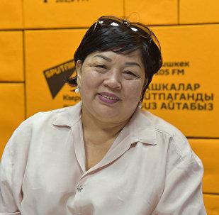 Председатель общественного объединения Союз людей с инвалидностью Равенство Гульмира Казакунова