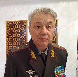 Командующий пограничными войсками Службы государственной безопасности Узбекистана генерал-майор Руслан Мирзаев