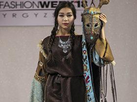 Басканы сонун маралдай... Бишкектеги мода жумалыгынан сүрөттөр