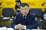 ИИМдин ЖКККББсынын жетекчисинин орун басары Нур Сатыбалдиев. Архив