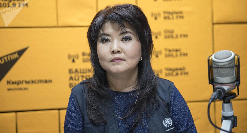 Национальный сотрудник Всемирной организации здравоохранения Алина Алтымышева