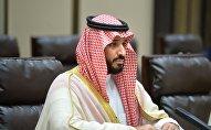 Наследный принц Королевства Саудовская Аравия Мухаммед бен Салман Аль Сауд. Архивное фото