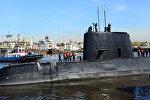 Аргентинская подводная лодка Сан-Хуан  на порту в Буэнос-Айресе. Архивное фото