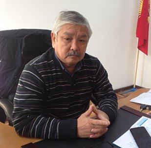 Кыргызфильм киностудиясынын директору Айбек Жангазиев