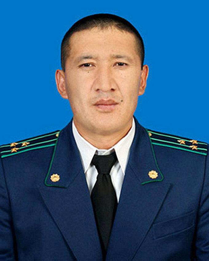 Прокурор Баткенской области Анарбай Мамажакыпов