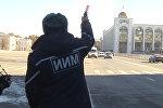 В Бишкеке почтили память погибших в ДТП — видео с акции