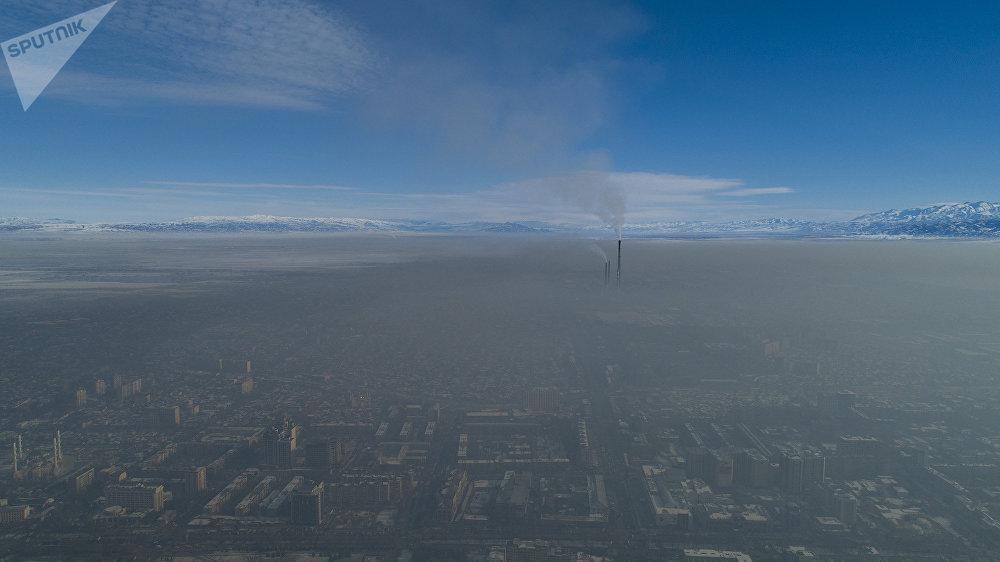 Каждый год с наступлением холодов над Бишкеком повисает смог