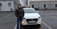 Москвада таксист болуп иштеген Кыргызстандык Кайрат Тентимишев