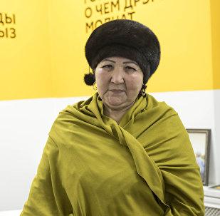 КТРКнын отличниги, маданияттын мыкты кызматкери Дамира Абдразакова