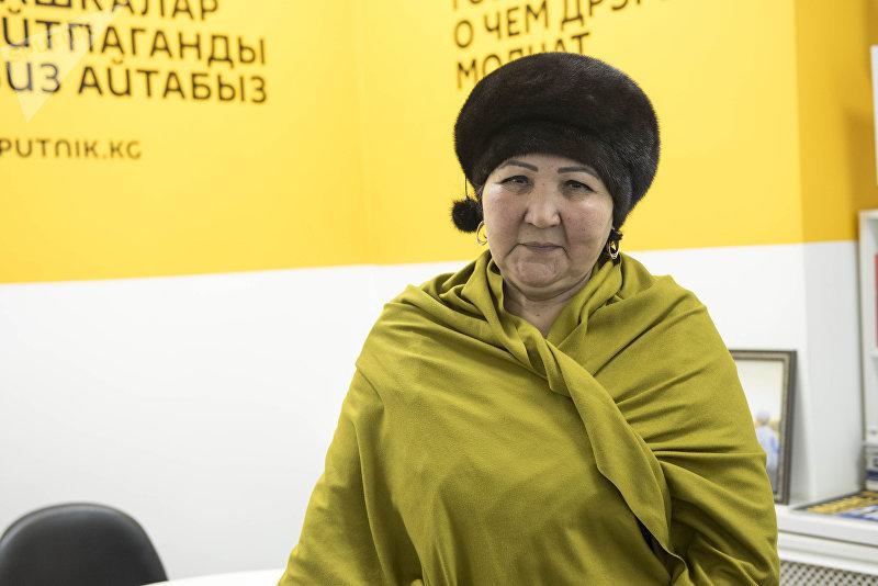 Отличник КТРК, заслуженный деятель культуры Дамира Абдразакова