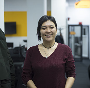 Бишкек мэринин кеңешчиси Гуля Алмамбетова. Архив