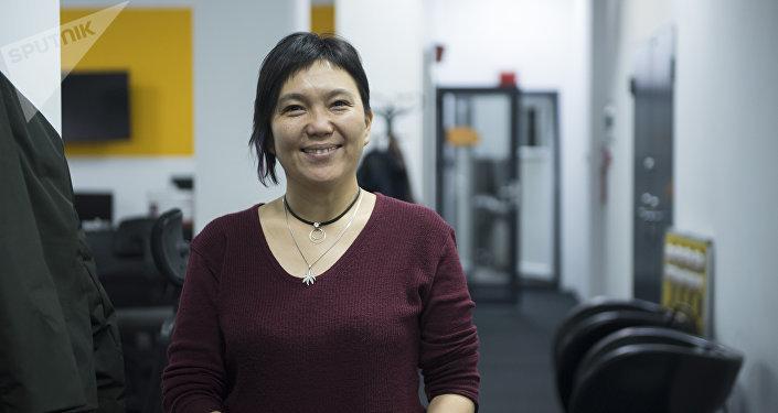 Бишкек шаар мэринин кеңешчиси Гуля Алмамбетова. Архив